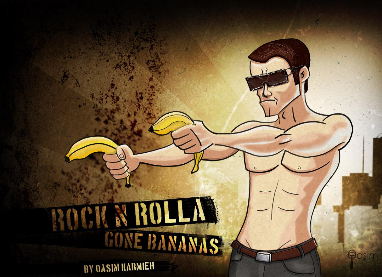 Gone Bananas by pixelbudah