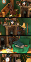 Disney Classic Scenes close-up