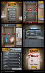 Battlenoid GUI by pixelbudah