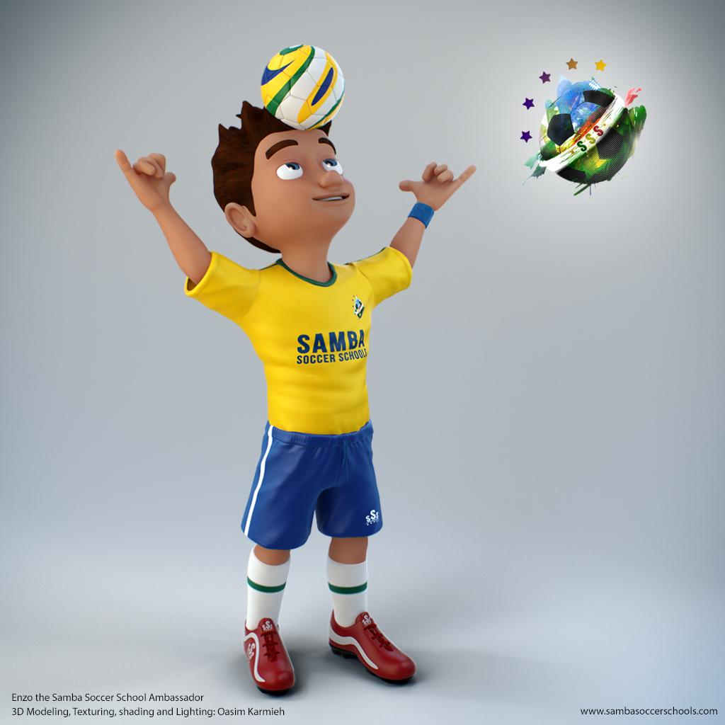 Enzo Samba Soccer by pixelbudah