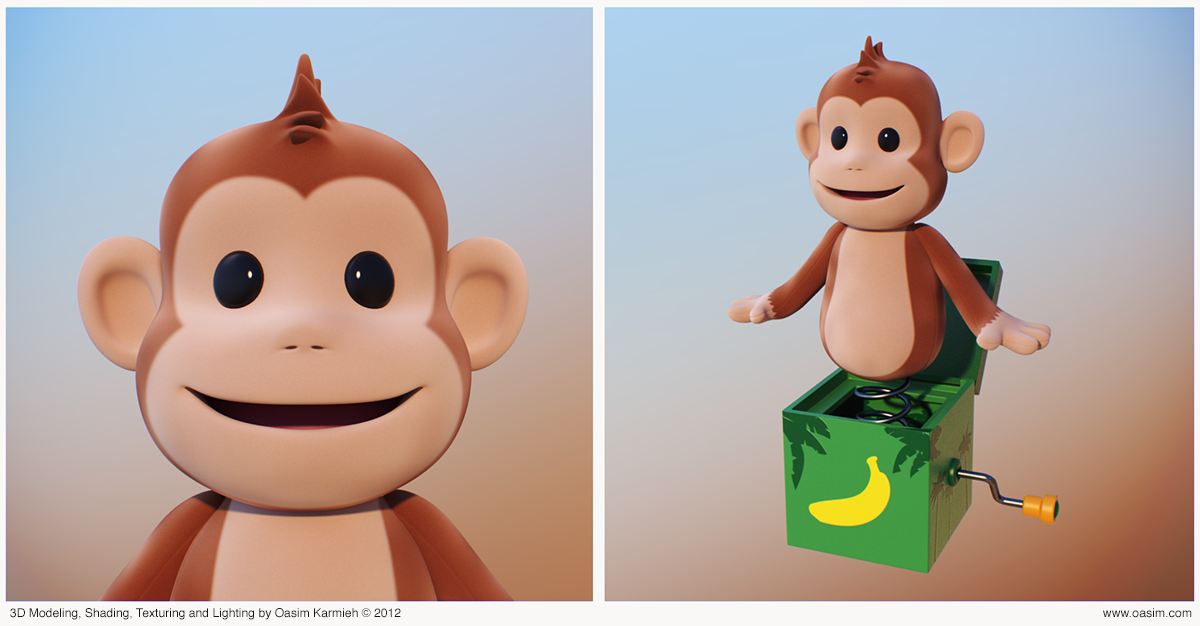 Monkey by pixelbudah