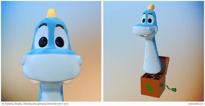 Dino 3D Cartoony Characters