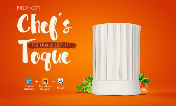 Chef-hat-marvelous-designer-tutorial