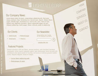 Light Fall Corporate Flash
