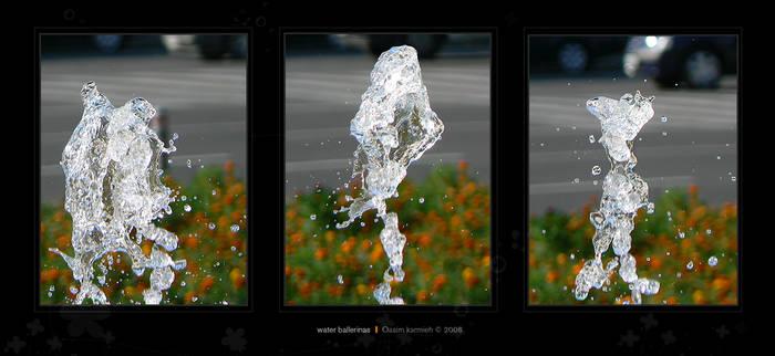 water ballerinas
