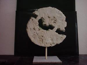 Luna en cuarto Doliente-Moon in mournful crescent