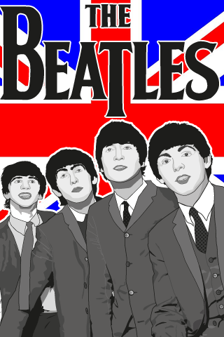 Beatles Iphone Wallpaper By MD3 Designs