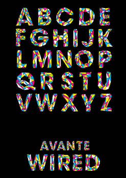 Avante Wired Typeface