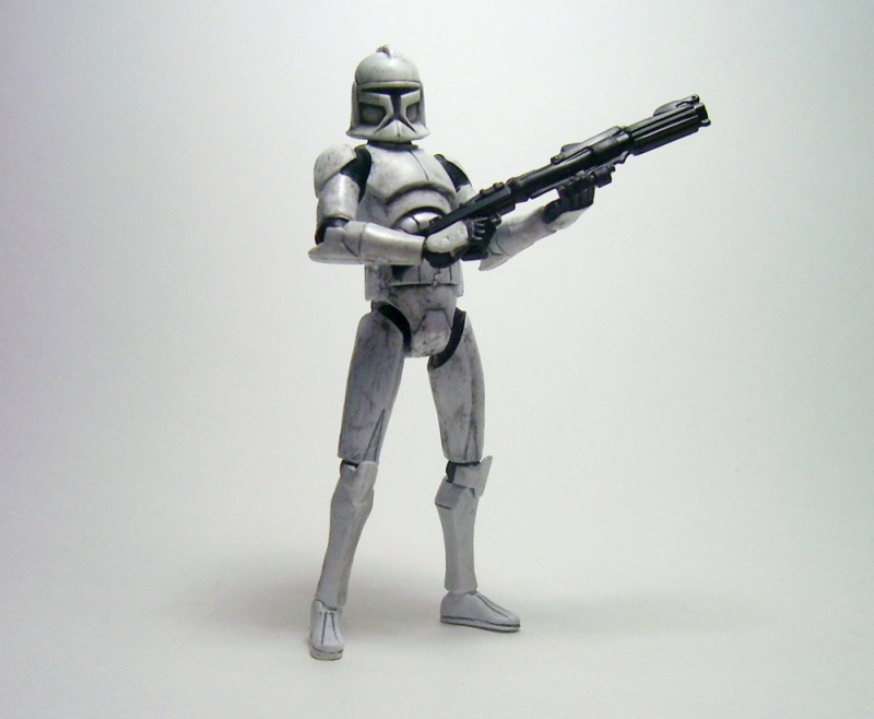 Clone Trooper Basic Custom 2 By Lalam24 On Deviantart