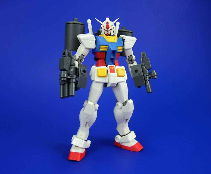 Robot Damashii - RX-78-2 W/Gouf Supplies 1 by Lalam24