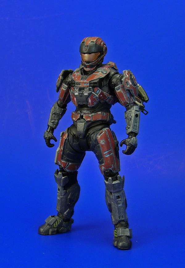 Halo: Reach - Spartan CQC w/ Battle Wear by Lalam24