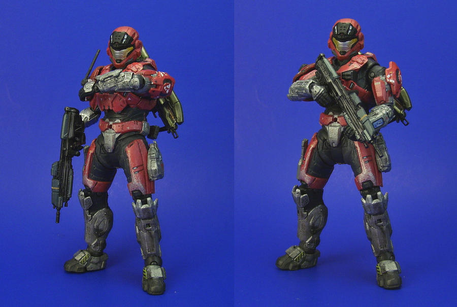 Halo: Reach - Spartan by Lalam24