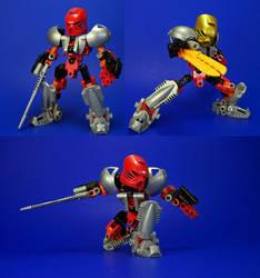 Bionicle - Tahu Revamp - Nuva by Lalam24