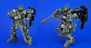 Lego - JR Weaponset C by Lalam24