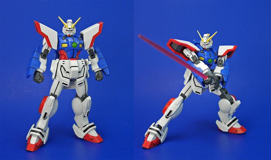 HGFC - Shining Gundam by Lalam24
