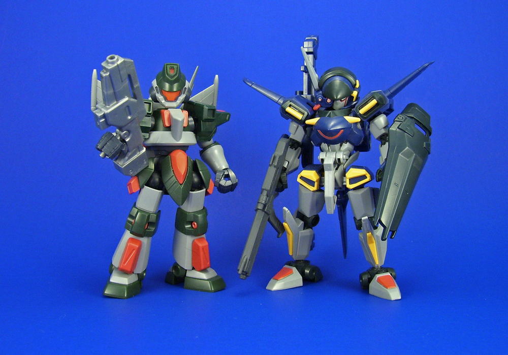 LBX - Proto I + Buster Modifications by Lalam24