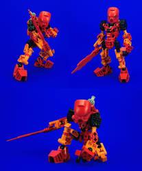 Bionicle - Tahu Re-Revamp by Lalam24