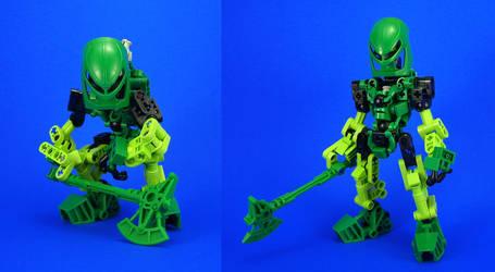 Bionicle - Lewa Re-Revamp by Lalam24