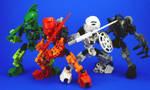 Bionicle - 4 Toa