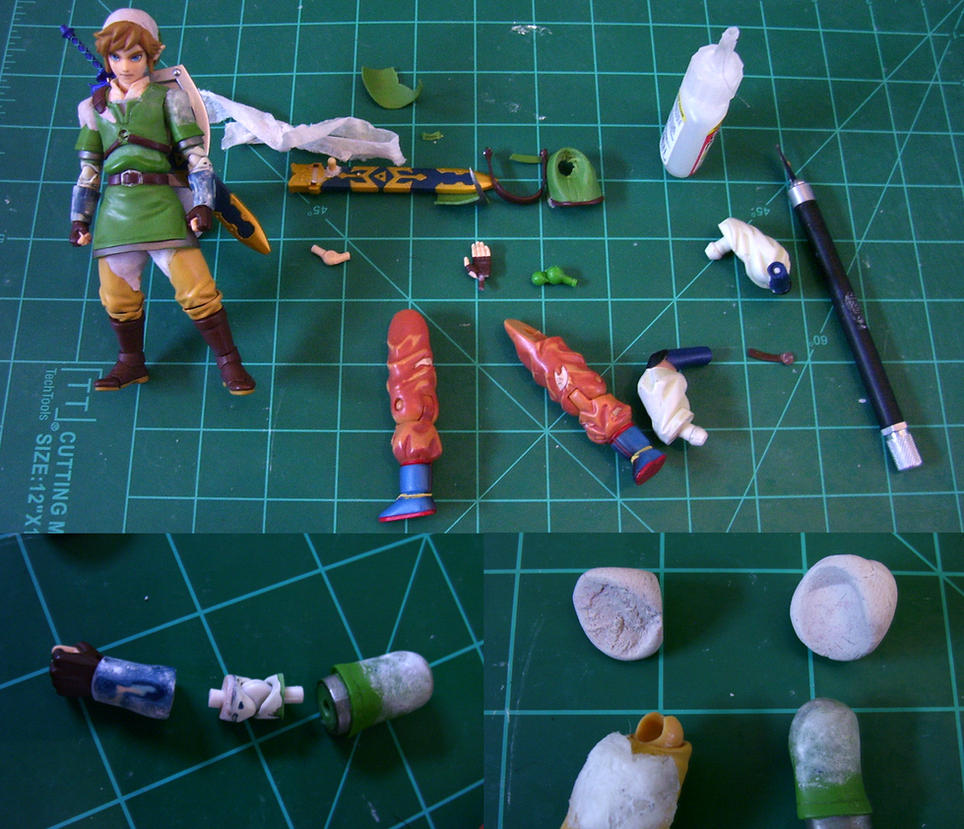 Figma Link reproportioning progress 01 by Lalam24