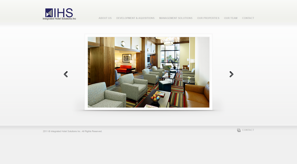 Integrated Hotel Solutios UI by da8esix