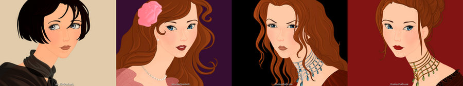 The Tully girls by SingerofIceandFire