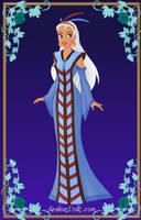 Kida as empress by SingerofIceandFire