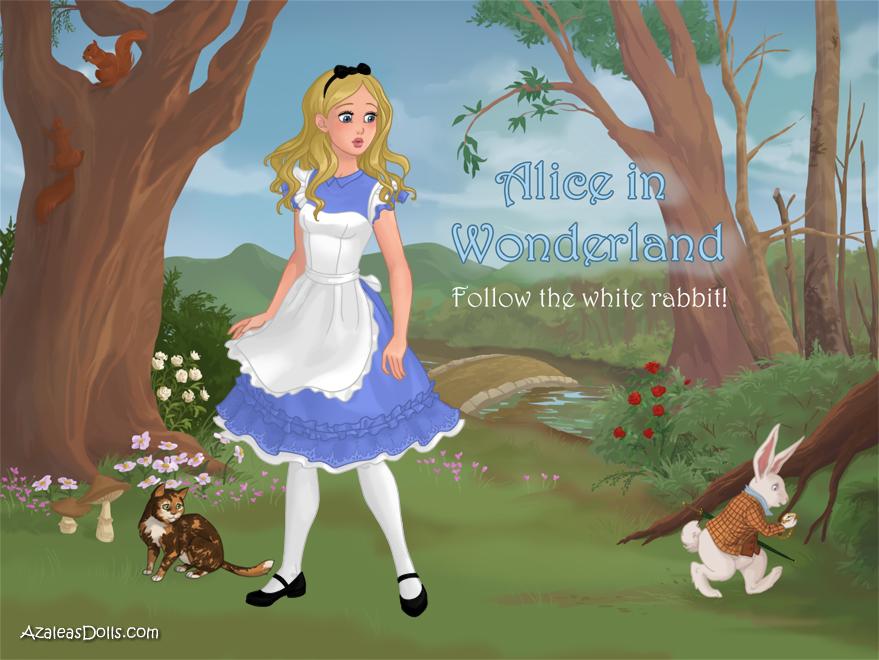 Alice in Wonderland by SingerofIceandFire