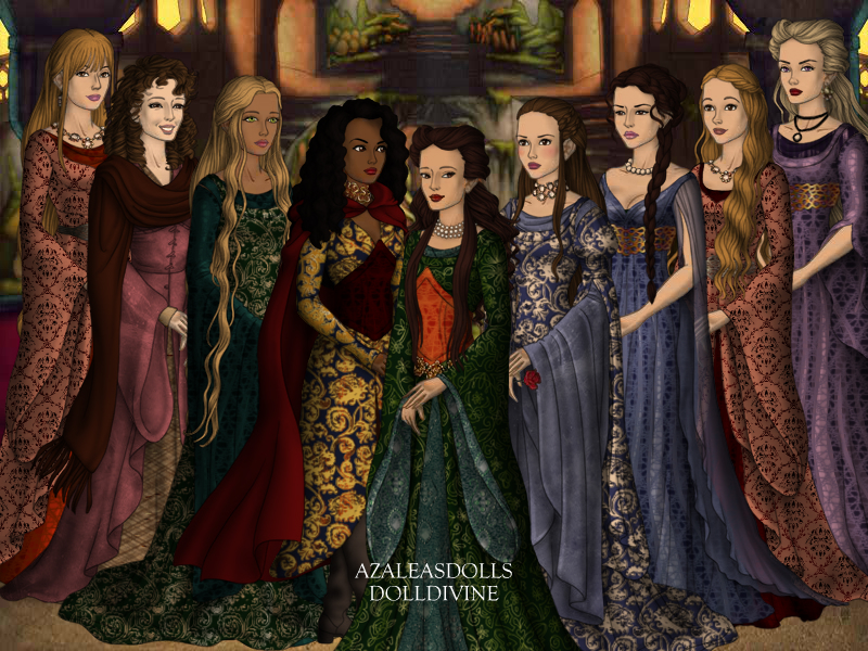 The 9 mistresses of Aegon IV by SingerofIceandFire