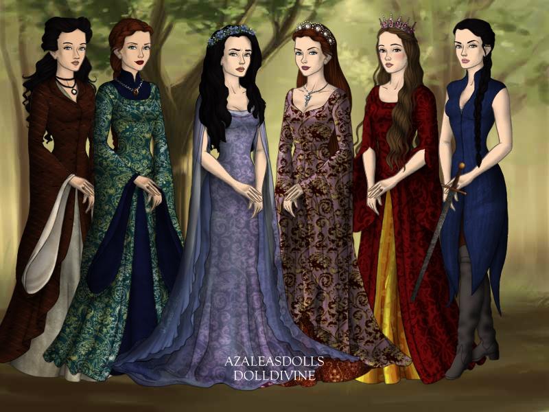 Ladies of House Stark by SingerofIceandFire