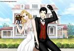 Captain Swan Wedding by SingerofIceandFire