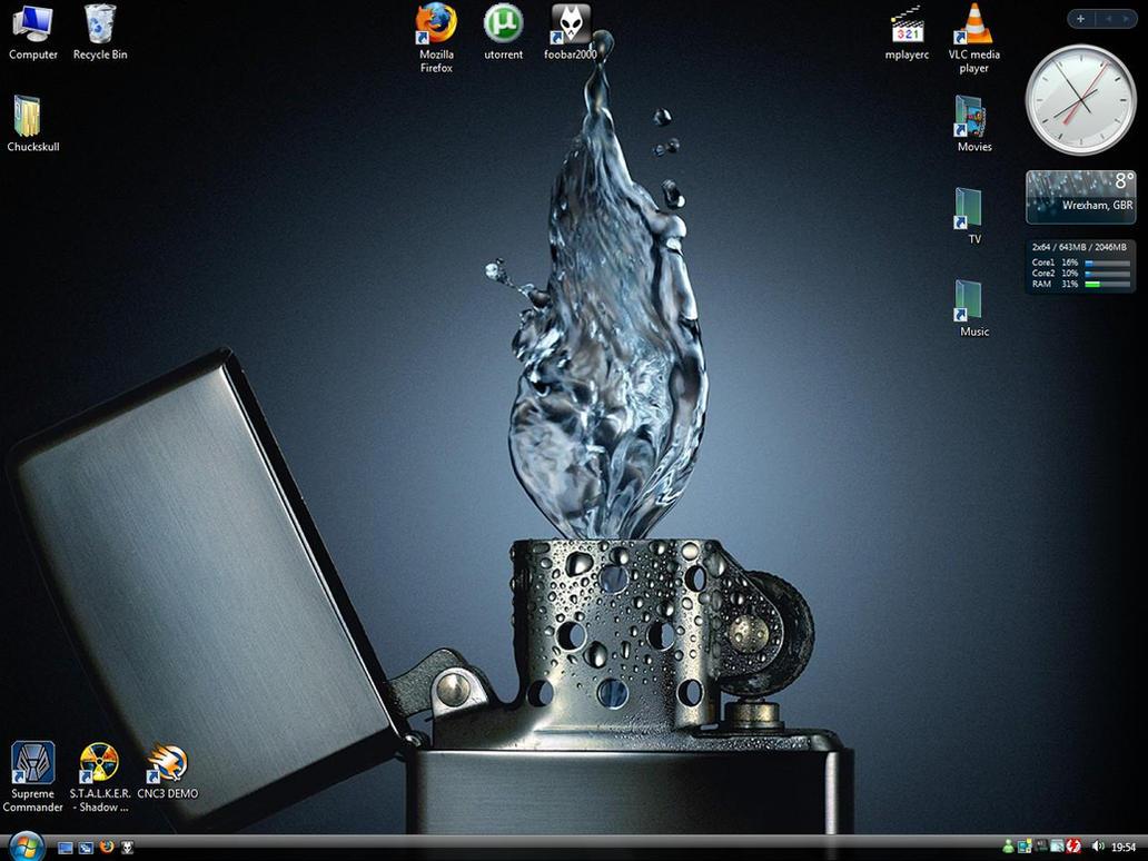 Desktop by Chuckskull