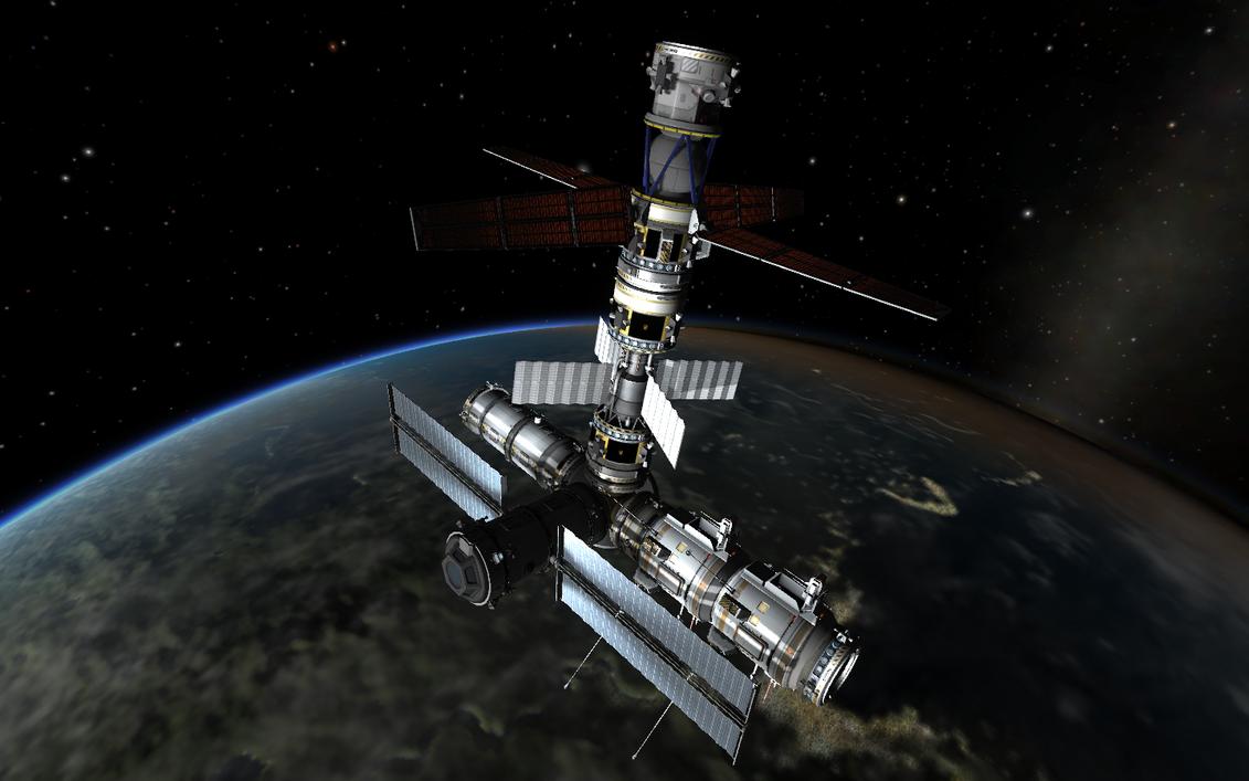 kerbal space program orbital science lab by shroomworks. Black Bedroom Furniture Sets. Home Design Ideas