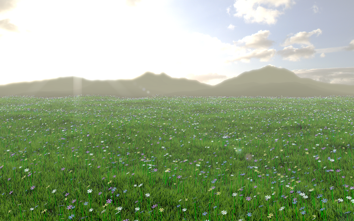 The Grass Plain Final By Shroomworks On Deviantart