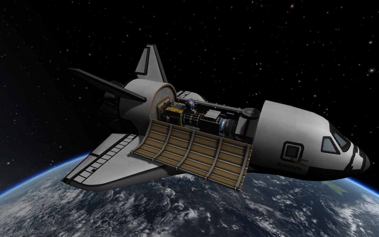 Kerbal space program kerbin mini shuttle 4 by - Wallpaper kerbal space program ...