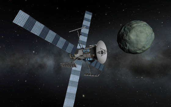 NSA 4-30 Adiemus III In Minmus' Orbit