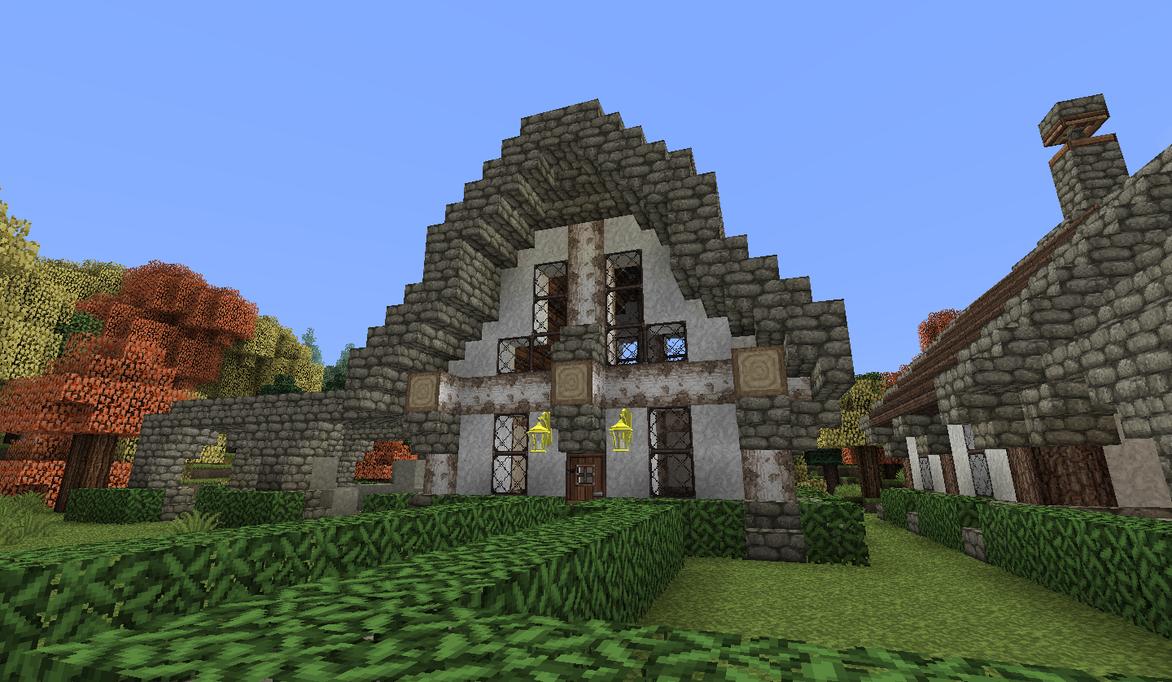 Minecraft - Lakeside Town