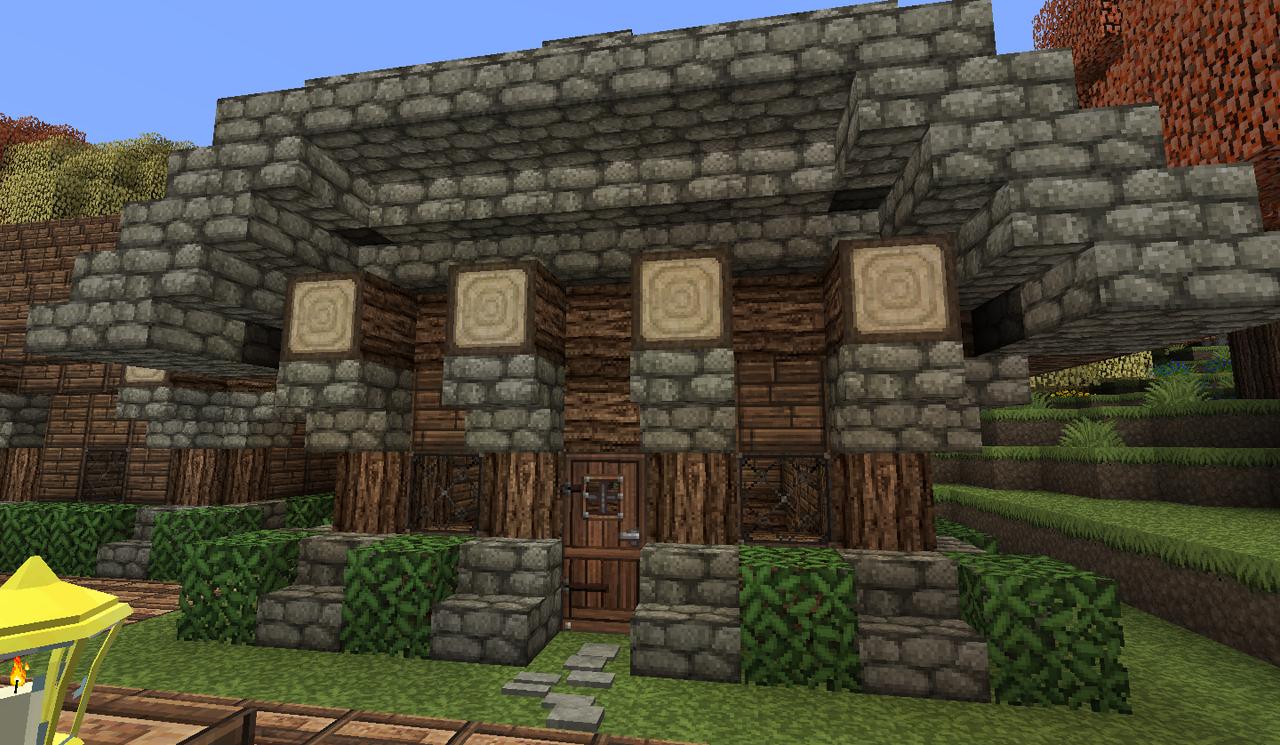 Minecraft - Small Barracks by Shroomworks on DeviantArt