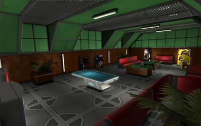 Space Engineers - Leisure Room by Shroomworks