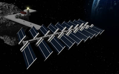 Space Engineers - Solar Array Concept by Shroomworks