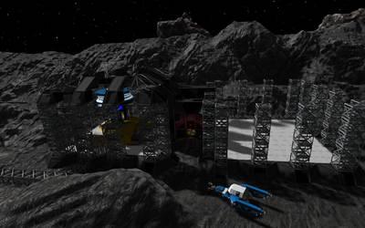 Space Engineers - Reactor Building by Shroomworks