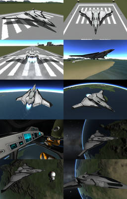 Kerbal Space Program - Phoenix SSTO