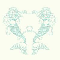 Mermaids and Anchors
