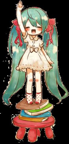 Hatsune Miku Render by KawaiiAmuChii