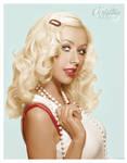 Christina Aguilera Colorize