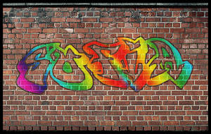 Graffiti Text Effect by StarlightSophie