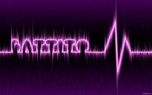 Cardiac Rate Typography by StarlightSophie
