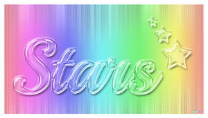 Transparent Glass Text Effect by StarlightSophie