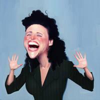 Elaine Benes by Cowboy-Lucas