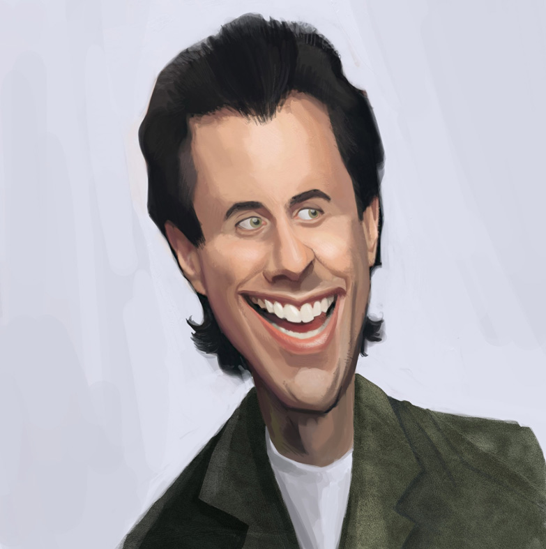 Jerry Seinfeld by Cowboy-Lucas